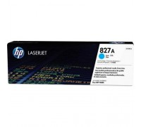 Картридж HP CF301A голубой для принтера HP Color LaserJet Enterprise flow M880z/ M880z+ (827A)