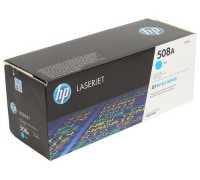 Картридж HP CF361A голубой для принтера HP Color LaserJet Enterprise M552dn/ M553dn/ M553n/ M553x (508A)