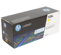 Картридж HP CF362A желтый для принтера HP Color LaserJet Enterprise M552dn/  M553dn/ M553n/ M553x (508A)