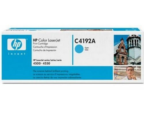 Картридж HP C4192A голубой для принтера HP Color LaserJet 4500