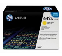 Картридж HP CB402A желтый для принтера HP Color LaserJet CP4005