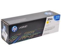 Картридж HP CC532A желтый для принтера HP Color LaserJet CP2025/ CM2320