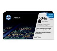 Картридж HP CE250A черный для принтера HP Color LaserJet CP3525/ CM3530