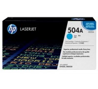 Картридж HP CE251A голубой для принтера HP Color LaserJet CP3525/ CM3530