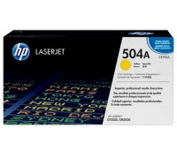 Картридж HP CE252A желтый для принтера HP Color LaserJet CP3525/ CM3530
