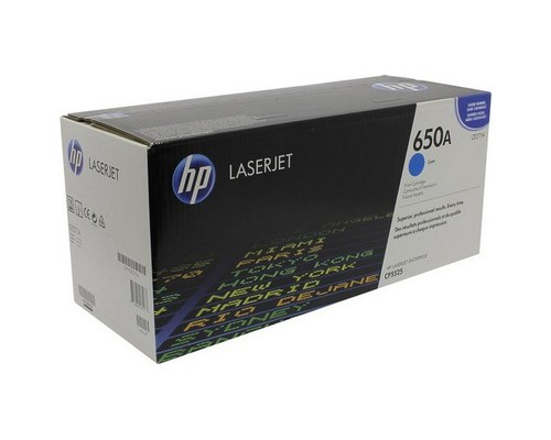 Картридж HP CE271A голубой для HP Color LaserJet CP5520