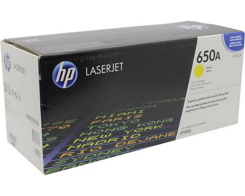 Картридж HP CE272A желтый  для HP Color LaserJet CP5520